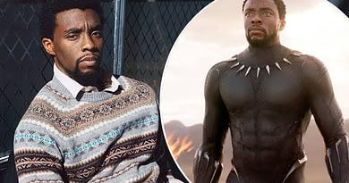 """Black Panther"" star Chadwick"